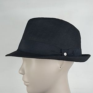 Stetson black fedora hat large-xl all American